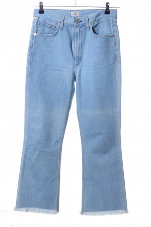 Citizens of Humanity Hoge taille jeans blauw casual uitstraling