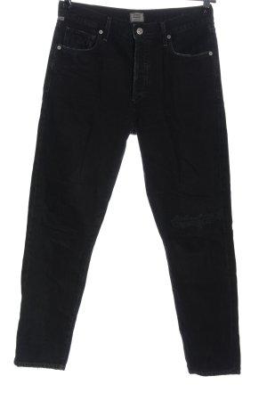 Citizens of Humanity Jeans a vita alta nero stile casual