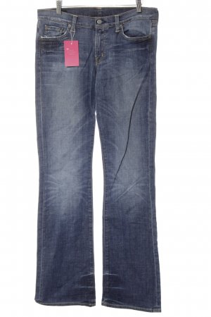 Citizens of Humanity Hoge taille jeans blauw-oranje casual uitstraling