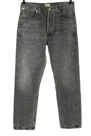 Citizens of Humanity High Waist Jeans hellgrau Casual-Look