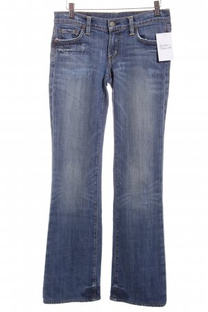 Citizens of Humanity Hüftjeans stahlblau Casual-Look