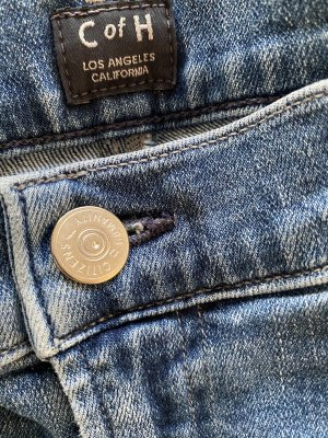 Citizens of Humanity 7/8 Length Jeans azure cotton