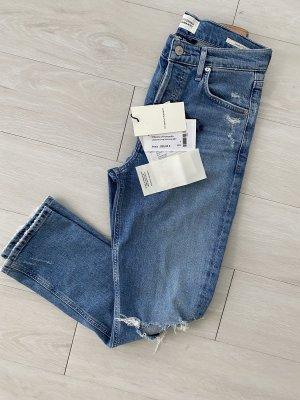 Citizens of Humanity Jeansy z prostymi nogawkami niebieski Bawełna