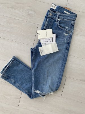 Citizens of Humanity Jeans a gamba dritta blu Cotone
