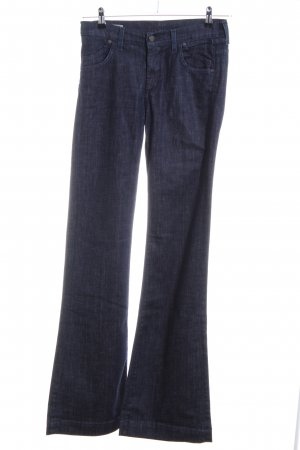 Citizens of Humanity Jeans a zampa d'elefante blu puntinato stile casual