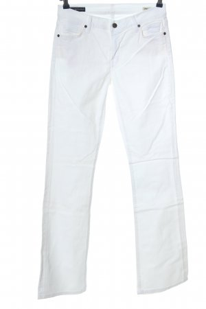 Citizens of Humanity Jeans a zampa d'elefante bianco stile casual