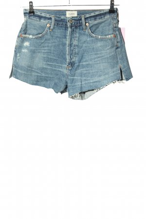 Citizens of Humanity Jeansshorts blau Casual-Look