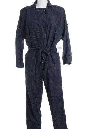 Citizens of Humanity Jumpsuit dunkelblau Jeans-Optik