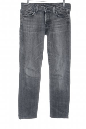 Citizens of Humanity Röhrenjeans grau Casual-Look