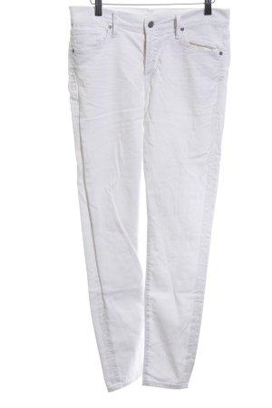 Citizens of Humanity Jeans cigarette blanc style décontracté