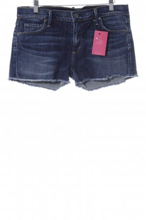 Citizens of Humanity Shorts stahlblau Casual-Look
