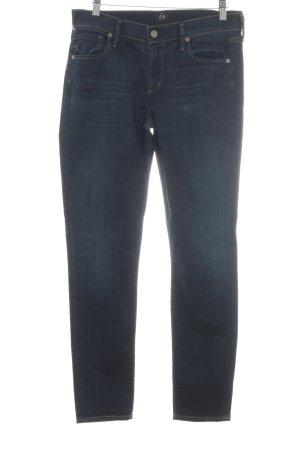 Citizens of Humanity Skinny Jeans dunkelblau-kornblumenblau Jeans-Optik