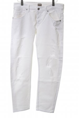 Citizens of Humanity Skinny Jeans weiß Casual-Look