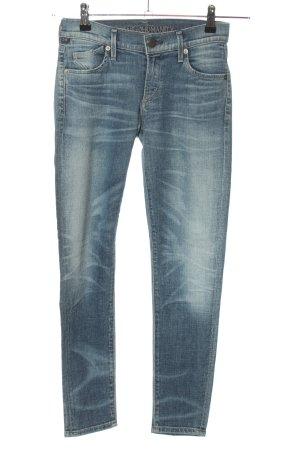 Citizens of Humanity Slim Jeans blau Casual-Look