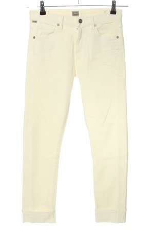 Citizens of Humanity Slim Jeans creme Casual-Look