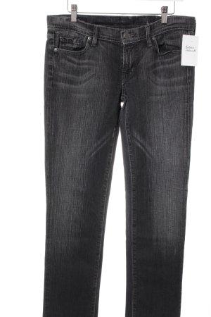 Citizens of Humanity Slim Jeans dunkelgrau-wollweiß meliert Casual-Look
