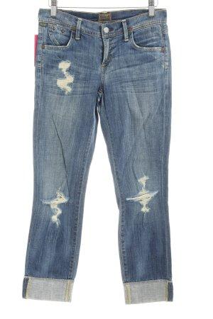 Citizens of Humanity Slim Jeans stahlblau Casual-Look