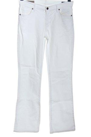 Citizens of Humanity Jeansy z prostymi nogawkami biały W stylu casual