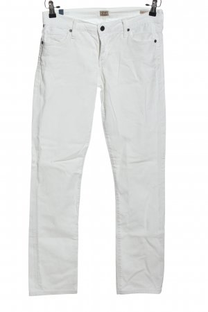 Citizens of Humanity Jeans a gamba dritta bianco stile casual