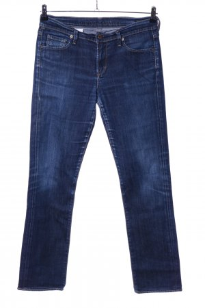 Citizens of Humanity Straight-Leg Jeans blau Casual-Look