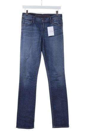 Citizens of Humanity Jeansy z prostymi nogawkami niebieski W stylu casual