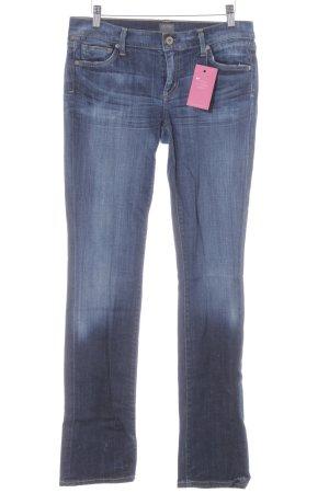 Citizens of Humanity Jeansy z prostymi nogawkami ciemnoniebieski W stylu casual