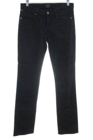 Citizens of Humanity Jeansy z prostymi nogawkami czarny W stylu casual