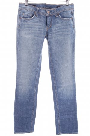 Citizens of Humanity Straight-Leg Jeans stahlblau Casual-Look