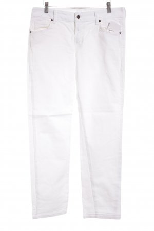 Citizens of Humanity Straight-Leg Jeans weiß Street-Fashion-Look