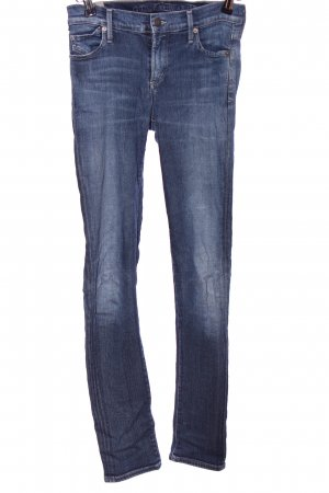 Citizens of Humanity Stretchhose blau Casual-Look