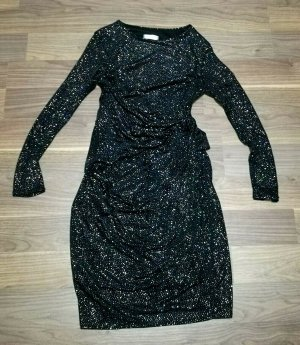 City Goddess London funkelndes Abendkleid NEU schwarz Gr.36/38/40 L