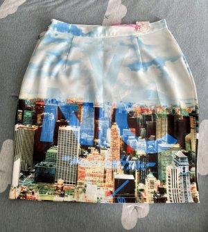 City Pattern mini Skirt **neu Nr. M-L