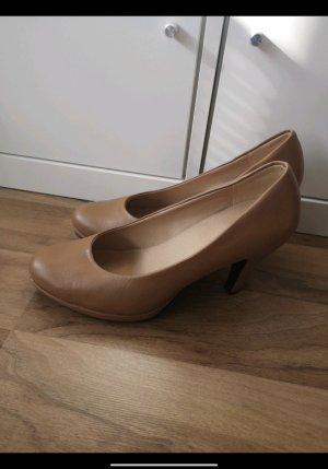 City Walk Damen Pumps High Heels braun beige Größe 40
