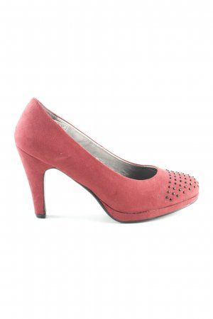 CityWalk Plateau-Pumps rot Casual-Look