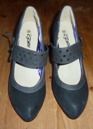 City Walk Classic Court Shoe anthracite-grey mixture fibre