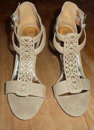 City Walk Pumps Sandale, Größe 38,  Absatz 9 cm, Neu