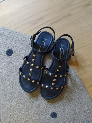 City Walk Sandalen Sandalen Sandalette Nieten Studs