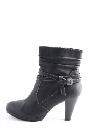 CityLine Ankle Boots schwarz Casual-Look