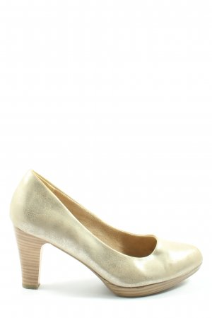 CityLine High Heels gold-colored casual look