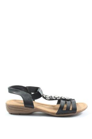 CityLine Comfort Sandals black casual look