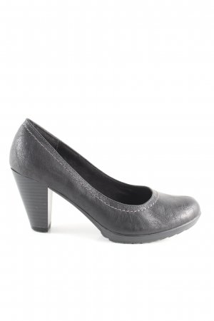 CityLine Plateau-Pumps schwarz Casual-Look