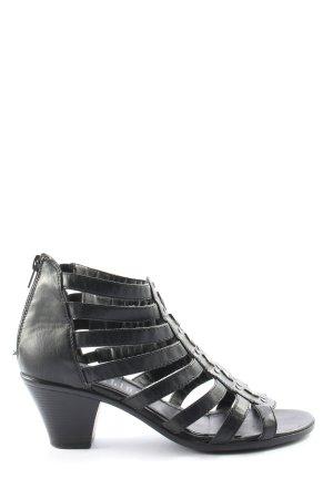 CityLine Sandały na grubym obcasie czarny W stylu casual