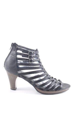 CityLine Riemchen-Sandaletten schwarz Casual-Look