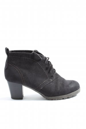 CityLine Lace-up Booties black casual look