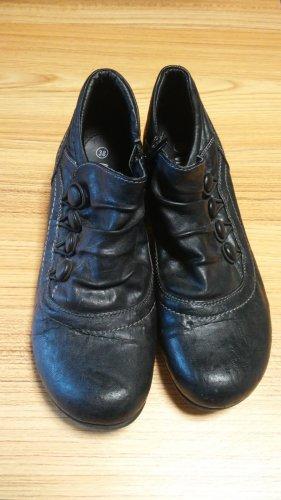 CityLine Slip-on Booties black