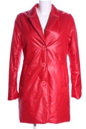 Civas Impermeabile pesante rosso stile casual