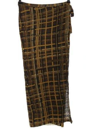 Cividini Jupe portefeuille motif abstrait style décontracté