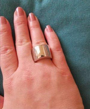 Calvin Klein Bague incrustée de pierres argenté