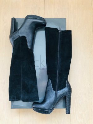 cK chice Winterstiefel in Schwarz - Gr. 38