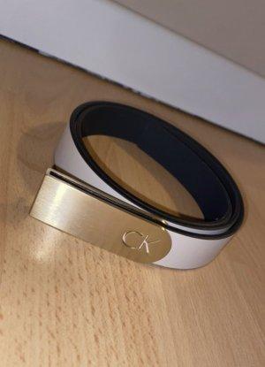 Calvin Klein Cinturón de cadera crema